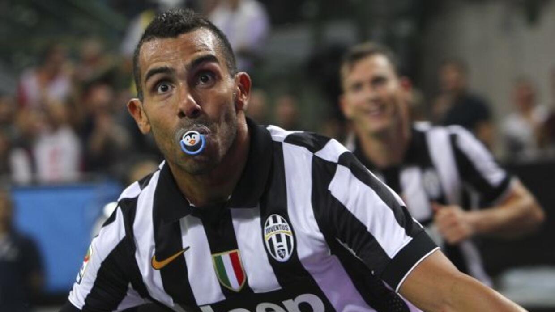 Carlitos Tévez anotó por la Vecchia Signora el único gol del partido.