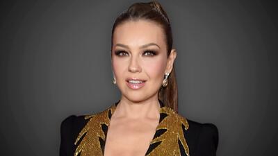 Thalía lamenta la muerte del estilista de las estrellas