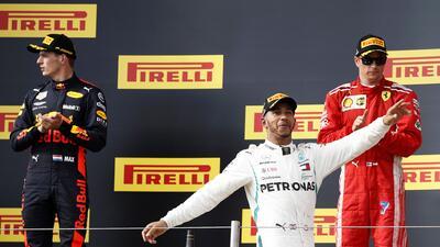 En fotos: Triunfa Lewis Hamilton en el regreso de la Fórmula 1 a Francia
