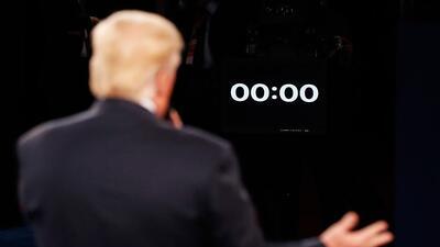 El escenario del segundo debate presidencial favoreció al candidato repu...