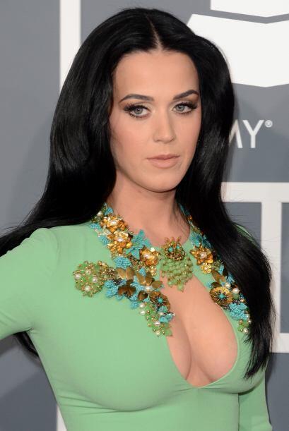Katy Perry ha logrado vender más de un millón de discos, cosa poco común...
