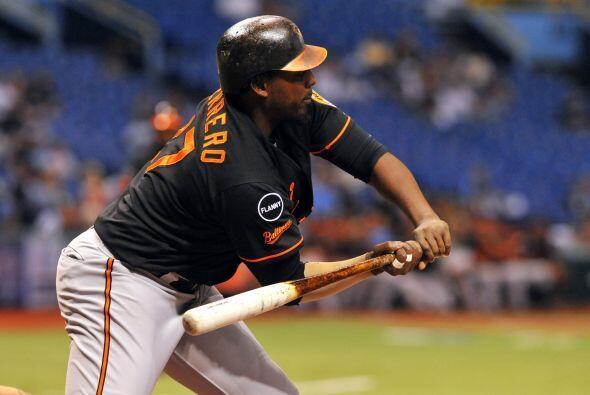 DH. Vladimir Guerrero. Orioles de Baltimore.   Guerrero ha tenido un bu...