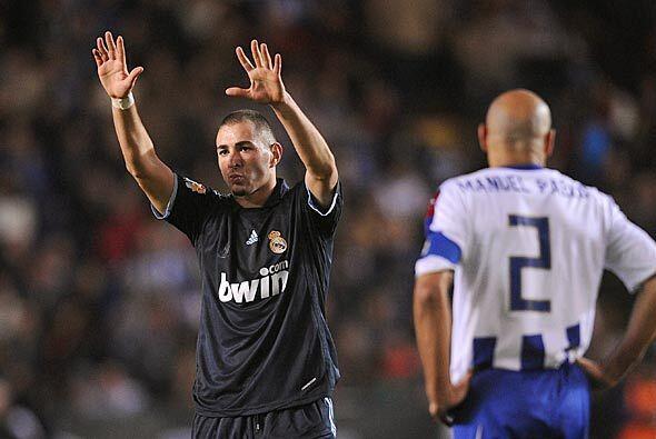 Después del gol de Esteban Granero, el francés Karim Benzema logró doble...