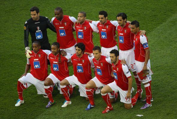 Braga quería cristalizar la gran sorpresa de este torneo.