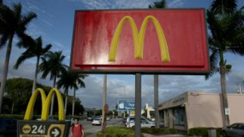 La compañía de comida rápida McDonald's cerró una página web que había c...