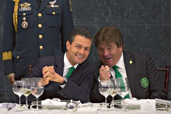 La Selección mexicana de fútbol estuvo este 15 de julio de 2014 en Los P...