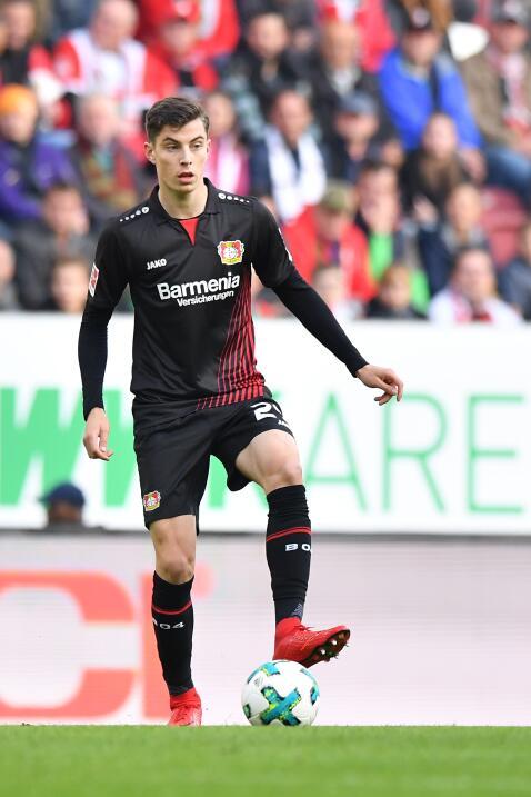 6. Kai Havertz - Mediocampista (Alemania / Bayer Leverkusen)