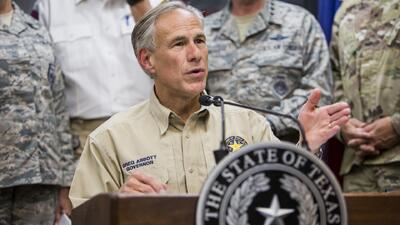 Gobernador de Texas ordena elevar nivel de preparación para tormentas ante perturbación tropical