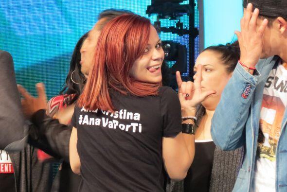 La puertorriqueña Ana Cristina Pagán nos presumíó su camiseta con su has...