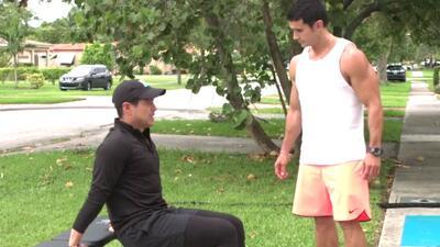 Alejandro Chabán nos enseña ejercicios para acelerar el metabolismo y qu...
