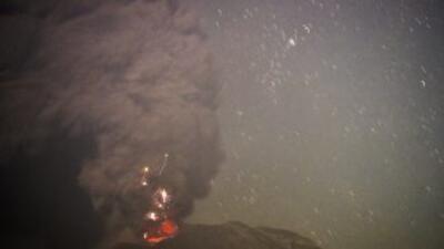 Volcán Calbuco.