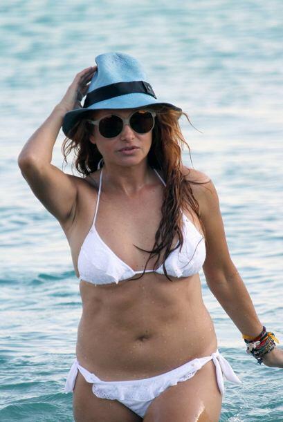Cuando 'Pau' tenía unas libras de más la captaron en la playa con un tra...