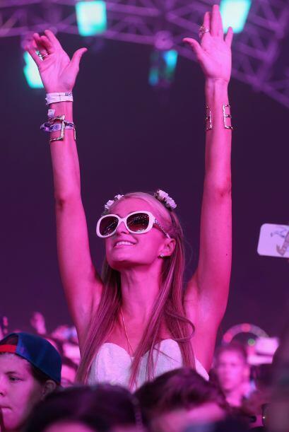 """La """"socialité"""" se la pasó en el festival de música. Mira aquí más videos..."""