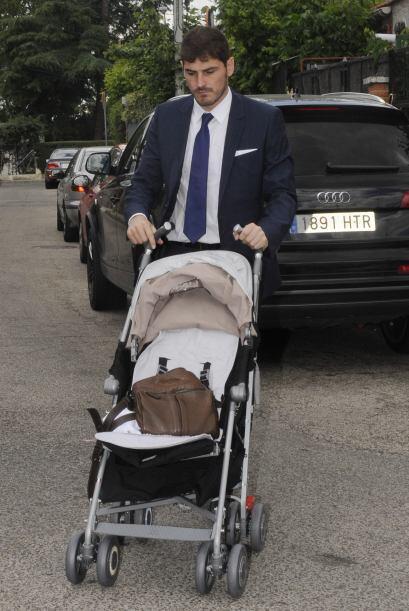 Iker se encargó de guardar todas las cosas del nene. Mira aquí los video...