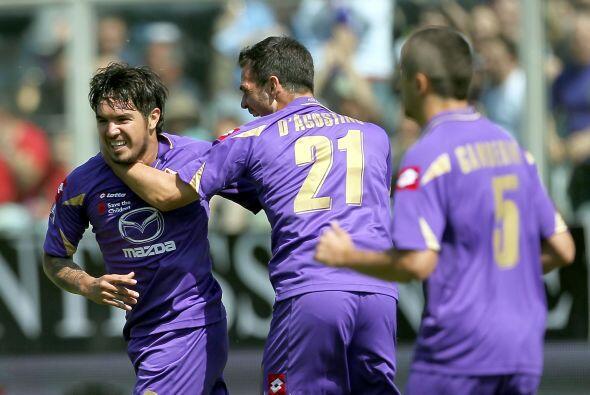 En un partido de muchos goles la Fiorentina recibió al Udinese.
