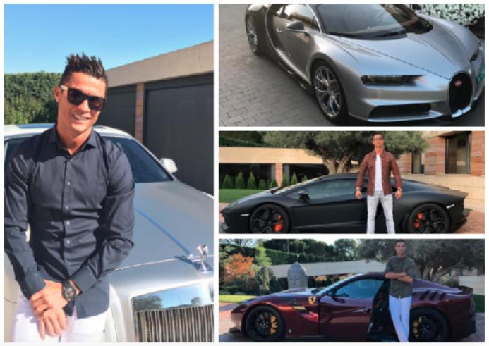 La colección de autos de lujo de Cristiano Ronaldo captura-de-pantalla-2...