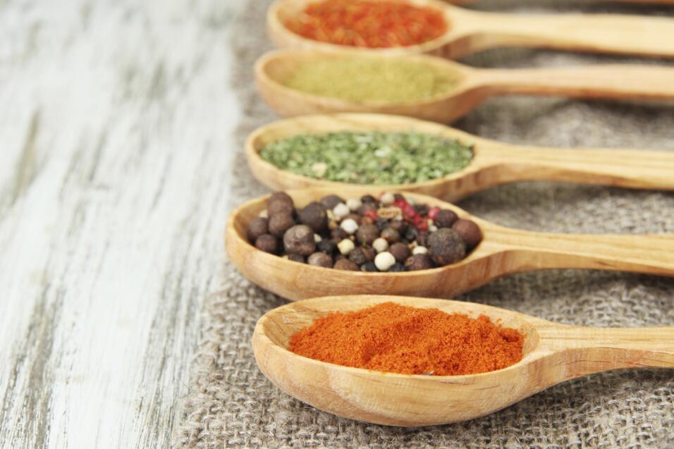 Especias para sustuir la sal