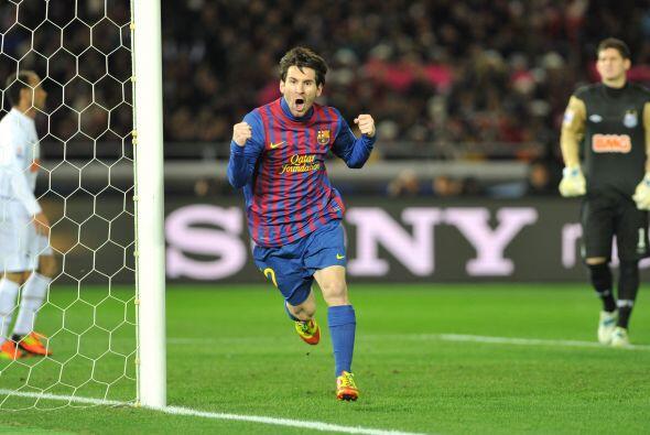 Lionel Messi es uno de los mejores jugadores del mundo y lo demostró en...