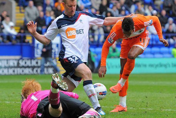 Bolton y Swansea repartieron puntos, empataron 1 a 1.