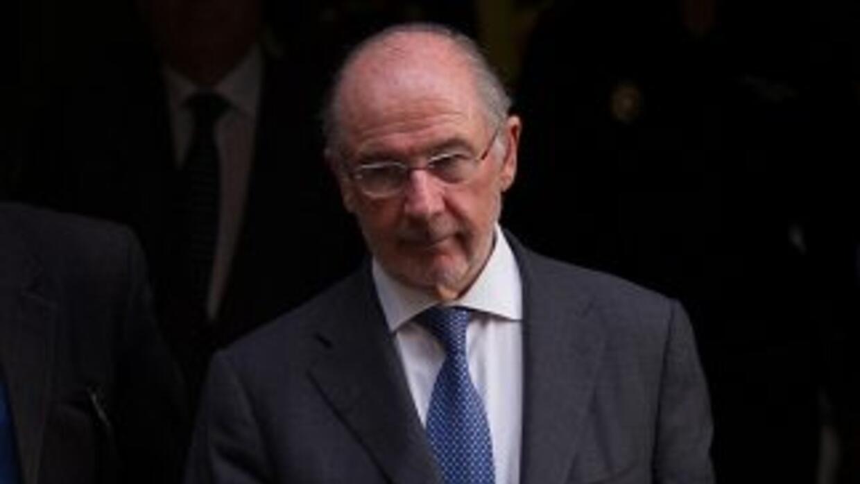 El exdirector del FMI, Rodrigo Rato.