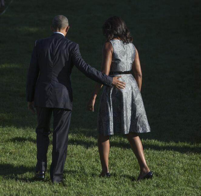 Michelle y Barack Obama: los amantes de la Casa Blanca GettyImages-48772...