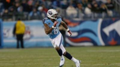 Kenny Britt llegó a un acuerdo con los Rams (AP-NFL).