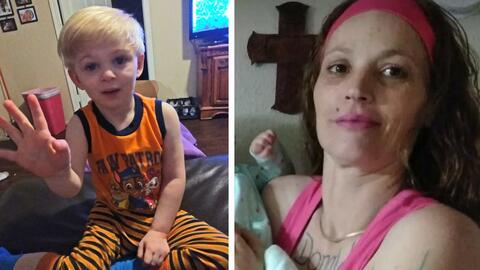 Alexzander Clayton Russell, de 3 años, fue secuestrado y la polic...