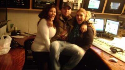 Luchy Luchy y Valeria se divirtieron en grande con la visita de Fidel Ru...
