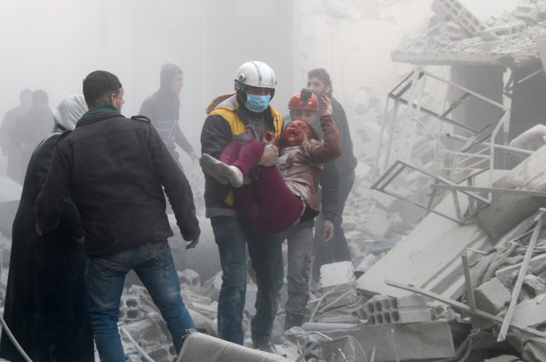 Fotos: Más de 800 muertos en Guta, la nueva 'capital' del desastre human...