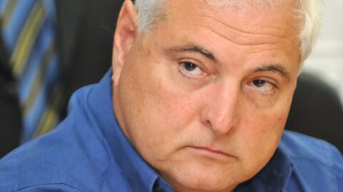 Con propósitos de extradición, expresidente panameño Ricardo Martinelli...
