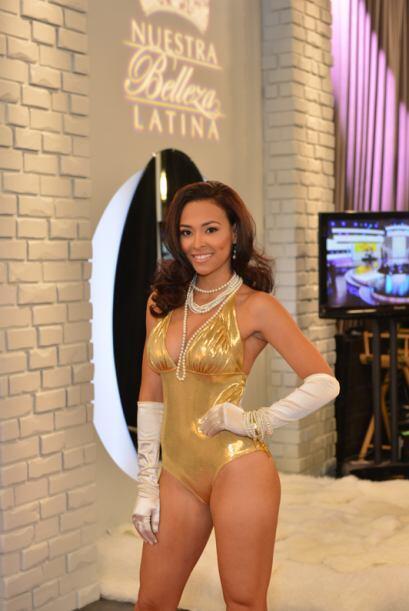 Janith Vanessa Arias de Colombia, audicionó en Nueva York. Ella es una d...