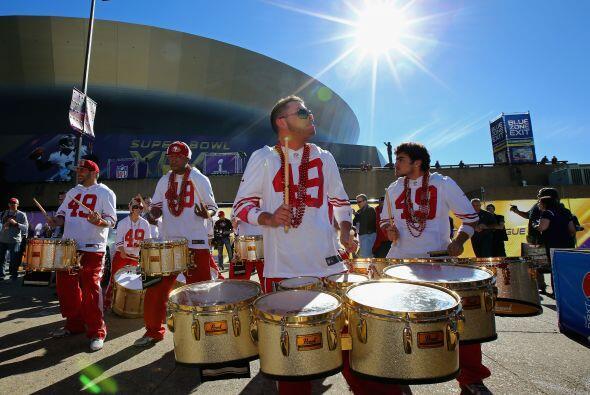 """La """"Ciudad del Jazz"""" se ve inundada de la pasión de la NFL por décima oc..."""