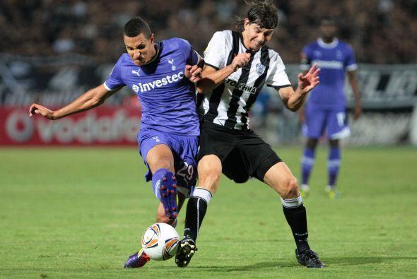 Y hablando de ingleses, el Tottenham jugó en Grecia ante el PAOK.