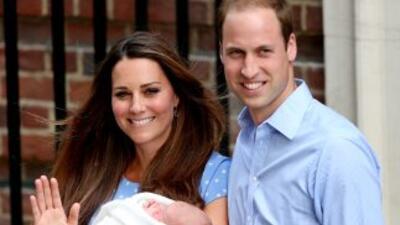 El primer hijo de los duques de Cambridge nació el 22 de julio de 2013.
