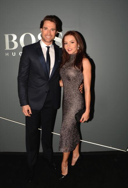 Angelique Boyer y Sebastián Rulli siempre brillan en las alfombras
