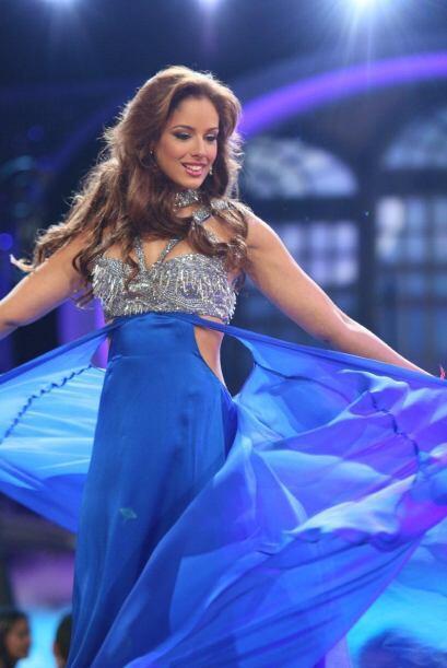 """La gran sorpresa de la noche fue que Alicia Machado dejó de ser la """"Madr..."""