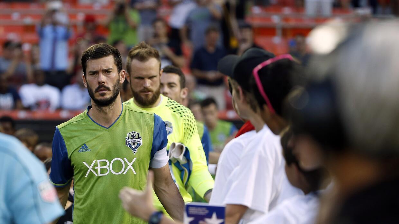 Brad Evans, molesto con la actitud de sus compañeros en Seattle.