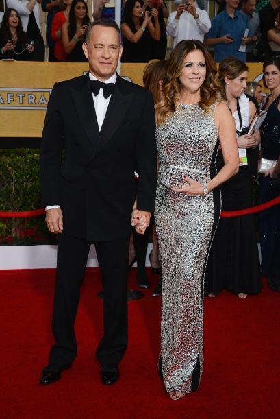 Tom Hanks y Rita Wilson tienen buenos asesores de moda, porque en verdad...