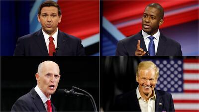 Estas son las contiendas electorales de medio término en Florida, estado que puede ser clave en las elecciones de 2020