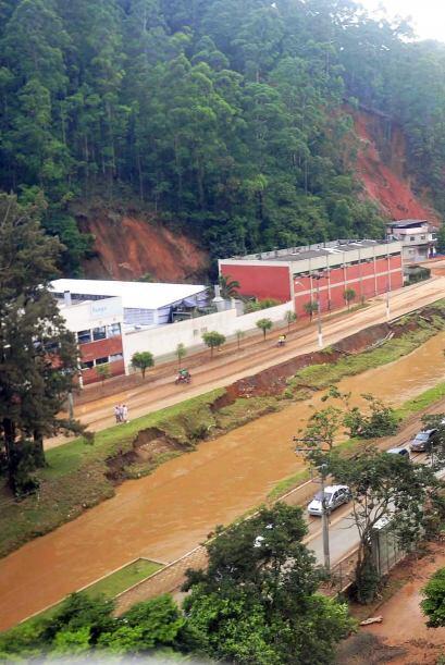 Las lluvias en Brasil dejaron más de 400 muertos. La intensificac...