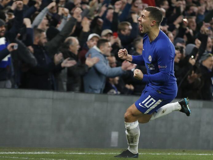 18. Eden Hazard (Chelsea) - 119,6 millones de euros