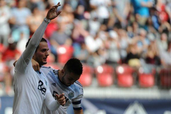 El uruguayo Rivero llegó apenas este año a Vancouver, y ese contingente...