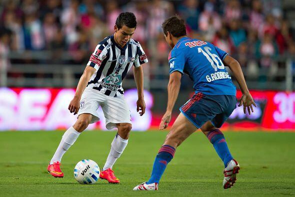 """El """"Chuky"""" Lozano, quien apenas la campaña pasada debutó en Primera Divi..."""