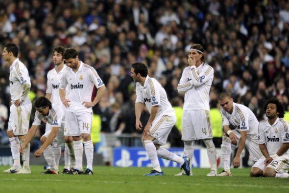 El Real Madrid se quedó afuera de la final de la Champions y no pudo fes...