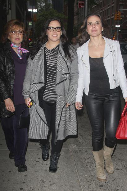 Y así fue como vimos reunidas a tres de las actrices más importantes de...