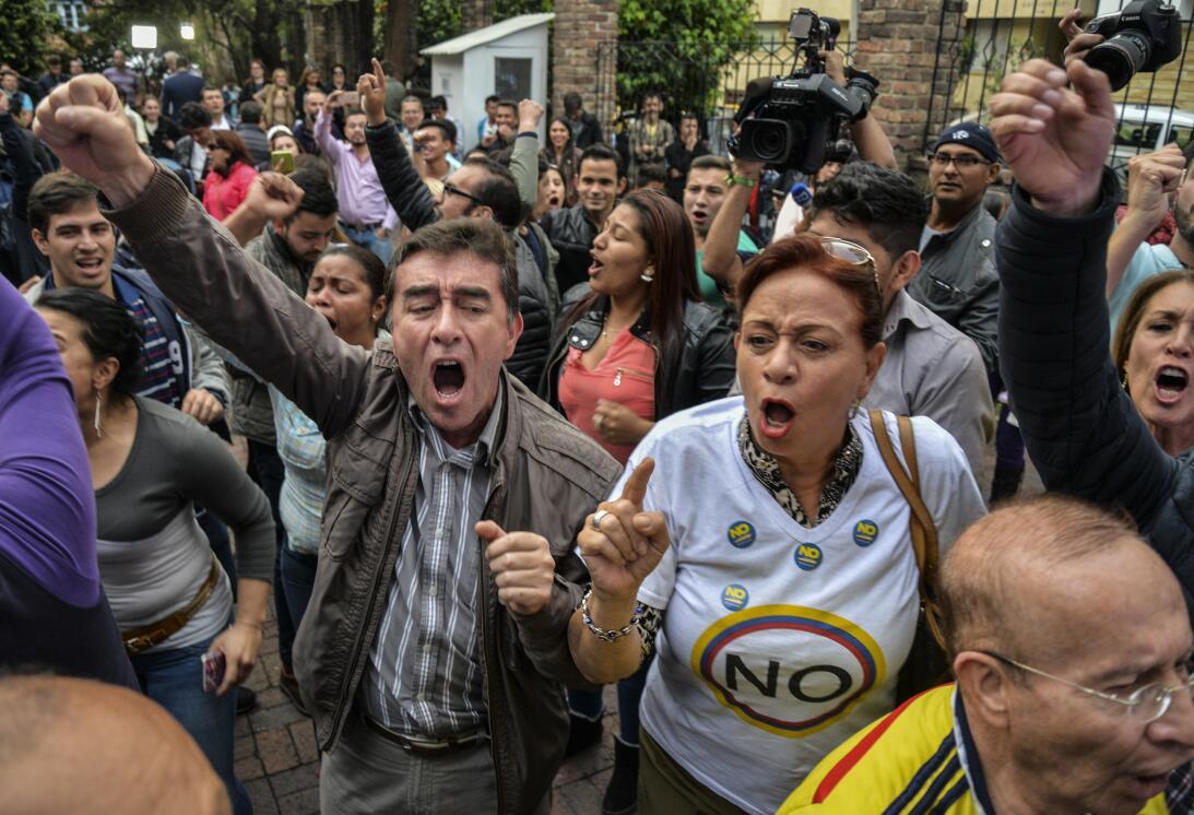 Plesbicito Colombia No