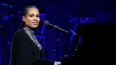 NEW YORK, NY - OCTOBER 20: Alicia Keys performs onstage at Angel Ball 20...