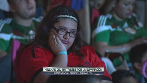 Tristeza de los hinchas del Tri tras el 7-0