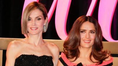 Salma fue reconocida en los premios Woman.