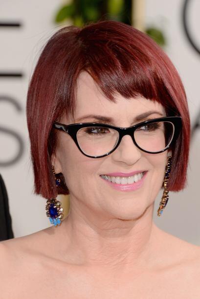 Megan Mullally quiso lucir diferente, más intelectual y sin tanta compli...